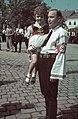 Fő tér (piata Centrala, ekkor Horthy Miklós tér) a magyar csapatok bevonulása idején. A felvétel 1940. szeptember 8-án készült. Fortepan 3971.jpg