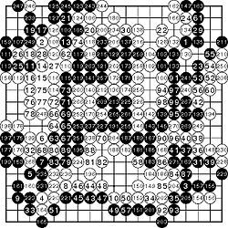 Fan Hui vs AlphaGo. 1a ronda