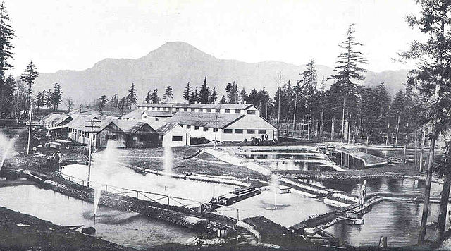 File fmib 34496 bonneville samon hatchery of the oregon for Oregon game and fish