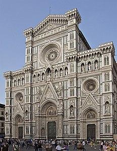 Façade cathédrale Florence