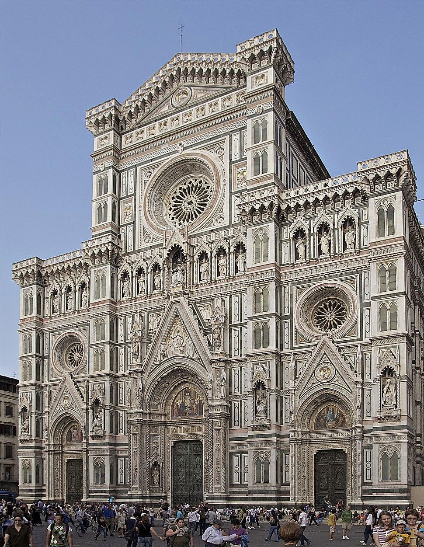 Fa%C3%A7ade cath%C3%A9drale Florence