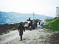 Fahrweg zur Festung Krak des Chevaliers 1995.jpg