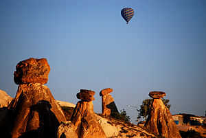 Nevşehir - Image: Fairy Chimneys