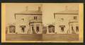 Family posing in front and in the porch of Stone House, from Robert N. Dennis collection of stereoscopic views 2.png