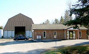 Faraday, Ontario - Municipal office of Faraday Twp. along Hwy. 28