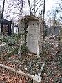 Farkasréti Jewish cemetery. Bischitz Regin 1922. - Budapest.JPG