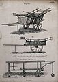 Farm carts, and a weighing device. Engraving by Mutlow and R Wellcome V0041025.jpg