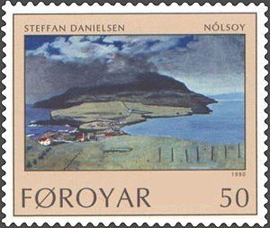 Nólsoy - Image: Faroe stamp 201 steffan danielsen nolsoy