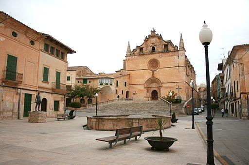 Felanitx - Placa de sa Font de Santa Margalida 01 ies