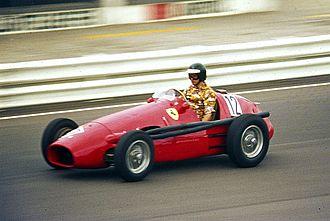 Alain de Cadenet - De Cadenet driving a Ferrari