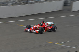 Ferrari F2004 - Ferrari F2004 being presented at Ferrari Racing Day, Shanghai, 2014