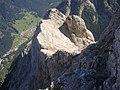 Ferrata Dei Finanzieri,cresta di passaggio da nord a sud - panoramio.jpg