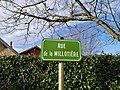 Ferrières-les-Bois - Rue de la Millotière (plaque).jpg