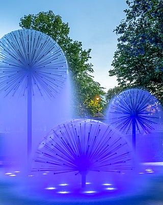 Ferrier Fountain, Christchurch, Canterbury