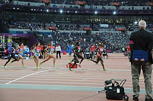 800 metres at the Olympics - The 2012 Olympic women's 800 m final