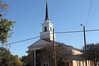 Overton, Texas - The First Baptist Church of Overton