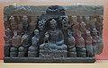 First Sermon - Schist - ca 2nd Century CE - Gandhara - Loriyan Tangai - ACCN 5054-A23277 - Indian Museum - Kolkata 2016-03-06 1489.JPG