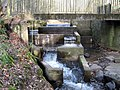 Fish ladder on Lothrie Burn as it enters the River Leven - geograph.org.uk - 1333292.jpg