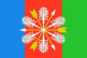 Chyormoz - Image: Flag of Chyormoz (Perm krai)