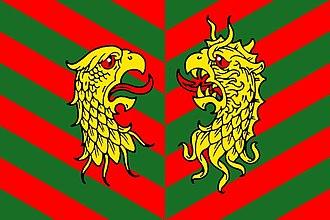 Kyakhtinsky District - Image: Flag of Kyahtinsky rayon (Buryatiya)