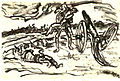 Flaig Kriegstagebuch Blatt 07 Verwundeter Kamerad 1916.jpg