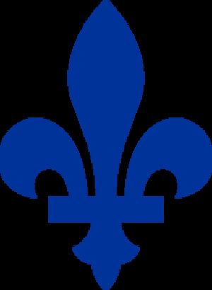 Symbols of Quebec - Fleur de lis