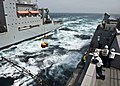 Flickr - Official U.S. Navy Imagery - USS New York conducts a replenishment at sea..jpg