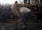 Flickr - Official U.S. Navy Imagery - Ultimate Fighting Championship (UFC) fighter Keith Jardine demonstrates grappling moves during an exhibition in the hangar bay. (1).jpg