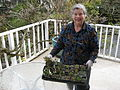 Flickr - brewbooks - Mary Ellen with 30 New Plants.jpg