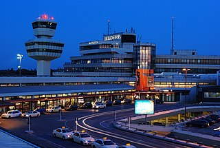 Berlin Tegel Airport international airport in Berlin, Germany