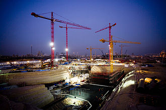 Fluor Corporation - A Fluor construction site in Shuaiba, Kuwait