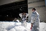 Flurry of foam released at Travis (2).jpg