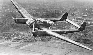 Focke-Wulf Fw 189 airplane