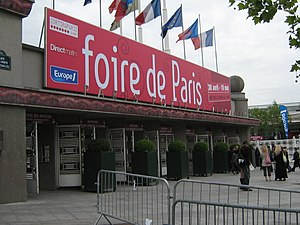 Foire de Paris - Entrance in 2009