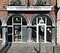 Fondation Jacques Brel, Place de la Vieille Halle aux Blés (bruxelles).jpg