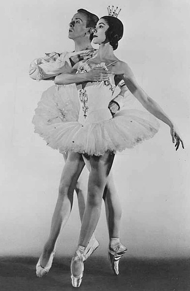 "Fonteyn as ""Chloe"", Photo Courtesy of  Dance Works Online"