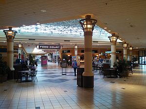 The Mall at Whitney Field - The mall's food court as of 2014