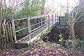 Footbridge in Mouseden Wood - geograph.org.uk - 1610628.jpg