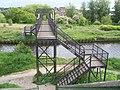 Footbridge over the Rotherham Cut - geograph.org.uk - 1428185.jpg