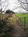 Footpath - West Lane - geograph.org.uk - 1179676.jpg