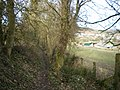 Footpath above Much Wenlock - geograph.org.uk - 1134440.jpg