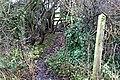Footpath entrance - geograph.org.uk - 1078320.jpg