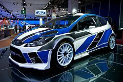 Ford Fiesta RS WRC na Paris Motor Show 2010