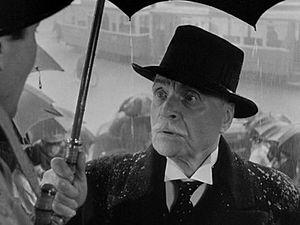 "Albert Bassermann - Albert Bassermann as ""Van Meer"" in Alfred Hitchcock's Foreign Correspondent."