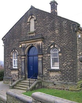 Fulneck Moravian Settlement - Former Moravian Sunday school