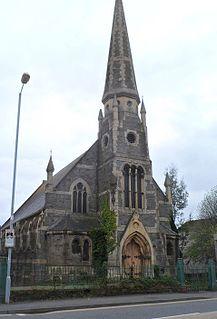 Park Congregational Chapel, Llanelli Church in Wales, United Kingdom