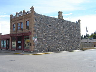 Fort QuAppelle Town in Saskatchewan, Canada