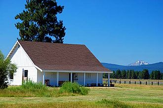 Fort Klamath - Fort Klamath guard house