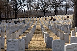 Fort Smith National Cemetery - Fort Smith National Cemetery in 2011