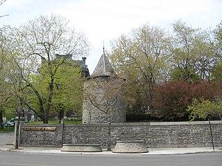 Fort de la Montagne building in Quebec, Canada